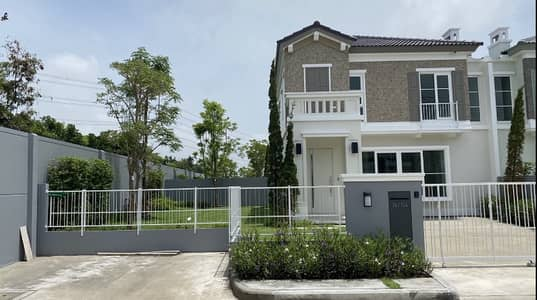 2 Bedroom Home for Rent in Prawet, Bangkok - Urgent rent ! Anya Bangna-Ramkamhang 2 furniture and electrical appliances. You can carry your bag in.