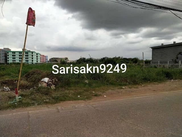 Land for sale 1,506 square meters in Krathum Baen row.