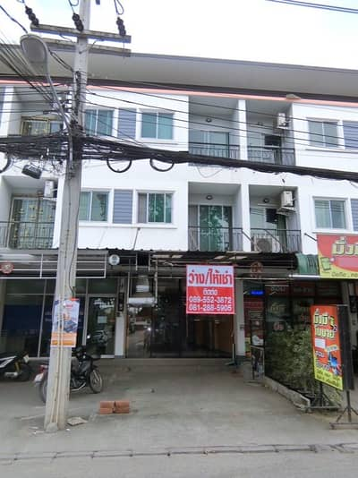 Commercial Building for Rent in Mueang Chiang Mai, Chiangmai - In Chom Chan community near Robinson, Central Airport with tenants, 14'000 per booth