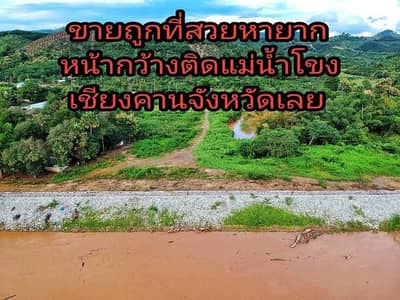 Land for Sale in Chiang Khan, Loei - Land for sale along the Mekong River, Chiang Khan, Loei Province.