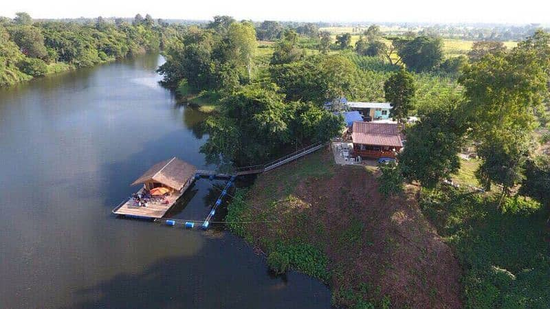 Land for sale next to Mae Nam Phong, area of 7 rai (can be divided for sale) with title deeds. Khuean Ubolrat Sub-district, Ubonrat District, Khon Kaen Province (sell by owner)