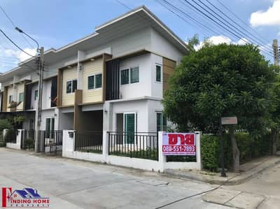 Townhouse for sale below cost 32.1 sq m. The Modish Village Soi Sarasas-Bang Bua Thong, Nonthaburi