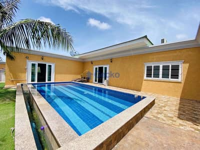 4 Bedroom Home for Rent in Bang Lamung, Chonburi - 4 Bedrooms House Entering Siam Royal View East Pattaya H009449