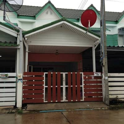 2 Bedroom Townhouse for Rent in Mueang Rayong, Rayong - (Someone has rented) for rent, townhouse, Rayong. Nice location, very good location.