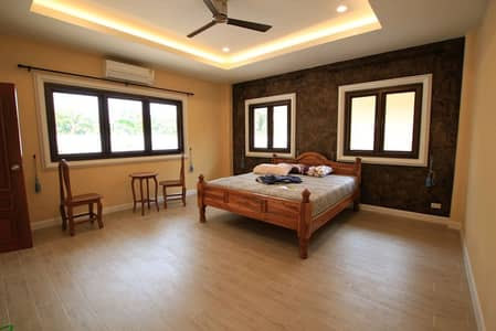 New house for rent 4 single-storey houses and one multi-purpose house, area 172 square wa, Hang Dong District, Chiang Mai Province, price 50000 baht