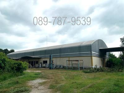 Factory for Sale in Si Maha Phot, Prachinburi - Land with factories for sale. have business license Purple area, size 13 rai 3 ngan 59 square wa, Nong Phong Subdistrict, Si Maha Pho District, Prachin Buri Province