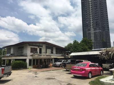 3 Bedroom Home for Sale in Sathon, Bangkok - Sale of land with buildings, 2-storey wooden houses, Soi Narathiwas Ratchanakarin 11, area 200 square meters, price 81.77 million baht.