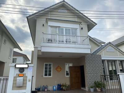 3 Bedroom Home for Rent in Sai Mai, Bangkok - For rent, a big house, a neighbor home village, decorated as a home office. complete working equipment Ready to move in