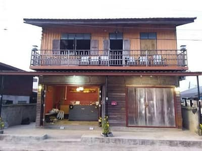 Hotel for Sale in Chiang Khan, Loei - Selling a resort business, 11 rooms along the Mekong River, Chiang Khan, in front of the walking street Behind the Mekong side, very good location, quick sale