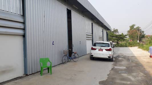 Factory for Rent in Pak Kret, Nonthaburi - Warehouse for rent 180 sq m. Soi Tiwanon - Pak Kret 27, next to Amporn Phaisarn School (Soi Wat Ku) Pak Kret Intersection, Nonthaburi 25,000 baht