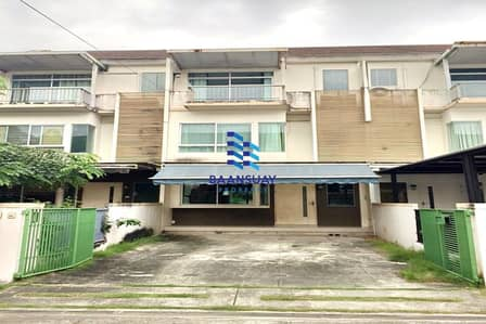 3 Bedroom Townhouse for Rent in Saphan Sung, Bangkok - 3-storey townhome for rent, Krungthep Kreetha Road. Close to unesco golf course