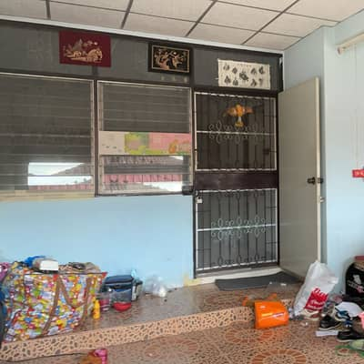 2 Bedroom Townhouse for Rent in Khlong Luang, Pathumthani - Single storey house for rent, Khlong 7, Pruksa 2 Village. If interested, contact to see the real location first. line id : meiiii-it