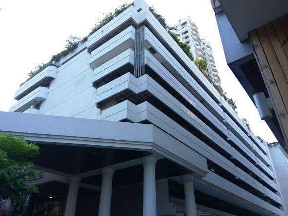 0414 Building space for sale 1500 square meters in the heart of Silom