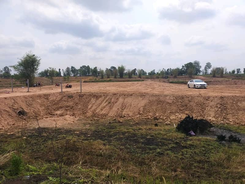 Land for sale 6 rai by owner.