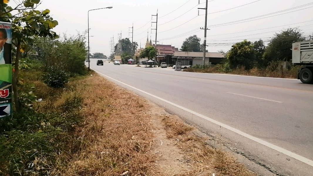 Land on the 108 road, Chiang Mai Hod, good location