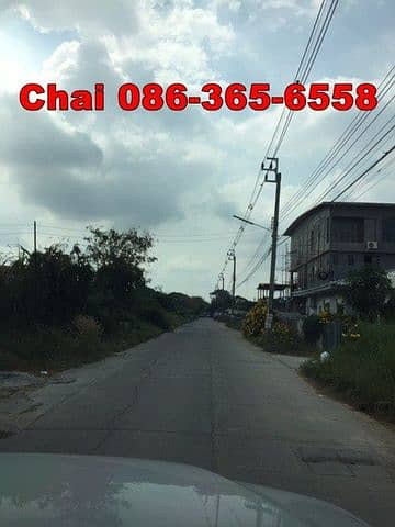 Land for Sale in Sai Mai, Bangkok - Land for sale in Sai Mai, good location, build a house with an office near the community, selling 40,000 baht per square wah.