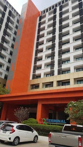 1 Bedroom Condo for Rent in Bang Kruai, Nonthaburi - Condo for rent 88 The Terminal Sirindhorn-Pinklao with 1 bedroom and 2 bedrooms, fully furnished, ready to view on the road.
