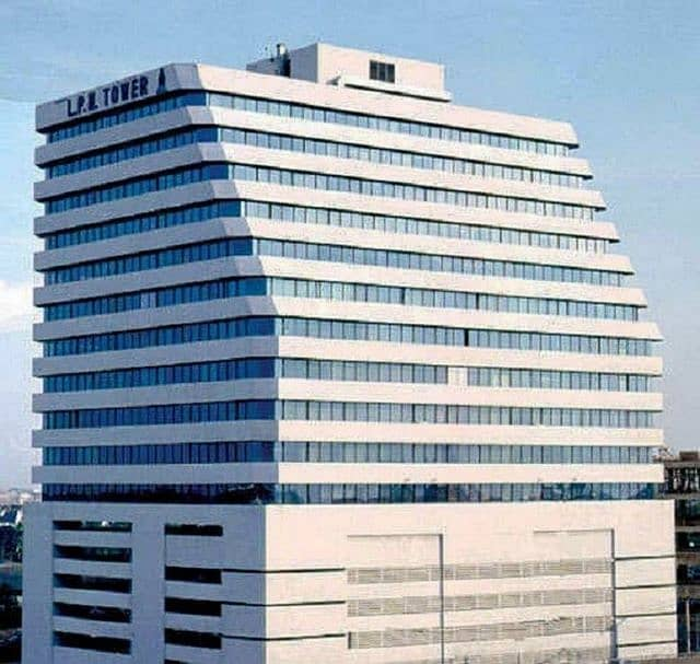 Sale-rent LPN Tower office space on the 15th floor, size 263 square meters, Nang Linchi Road, Yannawa, Bangkok.