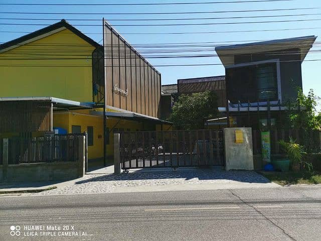 Dormitory for sale, sold below cost, with 1 house near Mae Jo University, Chiang Mai Province