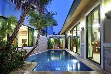 4 Bedroom Home for Rent in Bang Lamung, Chonburi - 4 Bedrooms House in Baan Natcha  Central Pattaya H009460