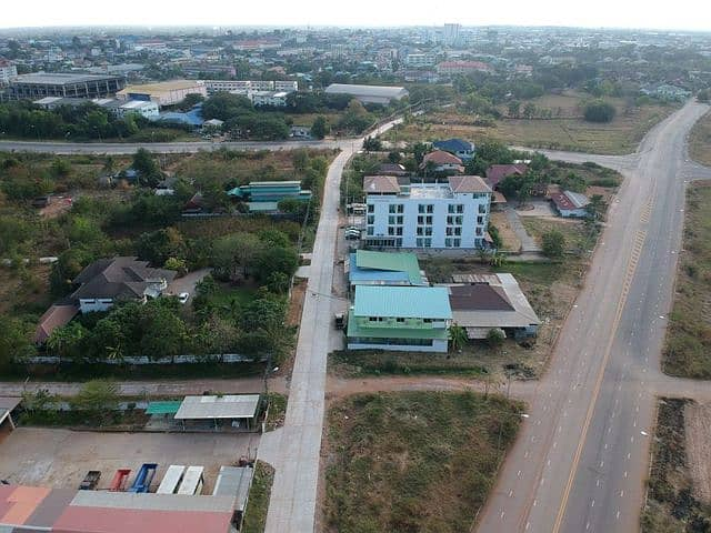 Land in the middle of Maha Sarakham city