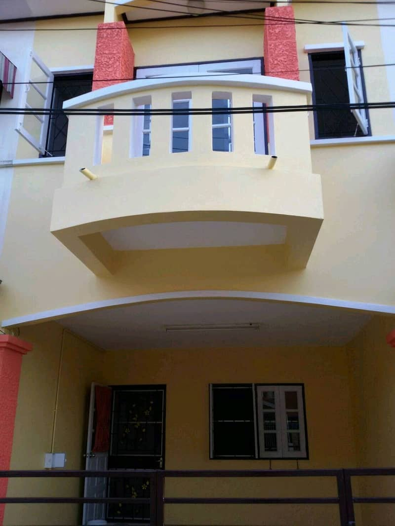 2-storey townhouse for rent near The Mall Bang Khae.