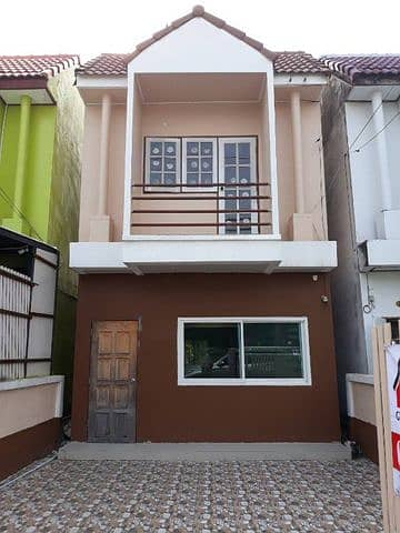 2 Bedroom Townhouse for Sale in Min Buri, Bangkok - 2 storey townhouse for sale, Soi Pracha Ruam Chai 17.