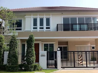 4 Bedroom Home for Sale in Lak Si, Bangkok - 2-storey detached house, 63 square meters, good location in the city center, beautiful, ready to move in