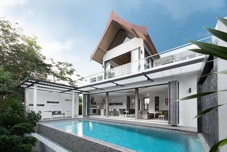 5 Bedroom Home for Sale in Thalang, Phuket - Unique 5 Bedroom Villa for Sale | Private Pool & Football Pitch | Cherngtalay, Phuket