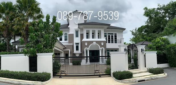 4 Bedroom Home for Sale in Taling Chan, Bangkok - Detached house for sale, Ladawan Ratchapruek-Pinklao, luxury mansion, new house, never lived , size 179 square wah
