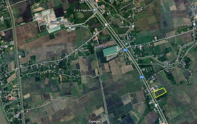 Beautiful land for sale on the Asian road