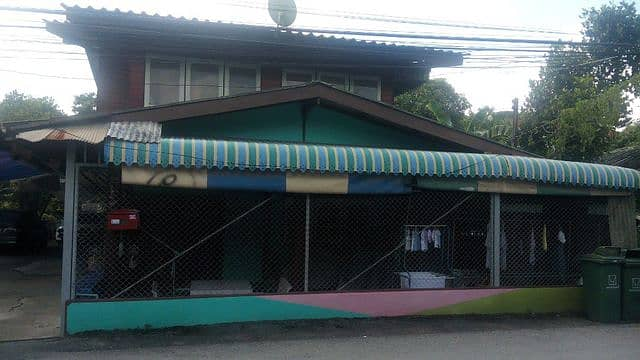 House for sale - house garden style 100 square meters Phutthabucha (sold by owner)