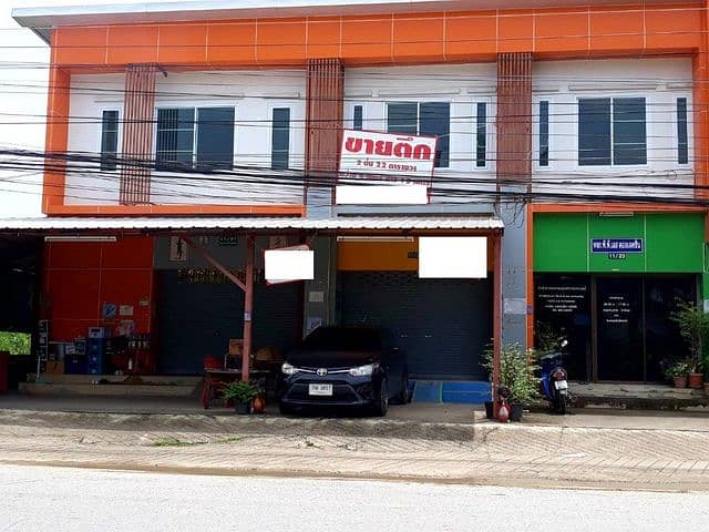 Selling a commercial building, the way to Phitsanulok Rajabhat University Near Central Phitsanulok