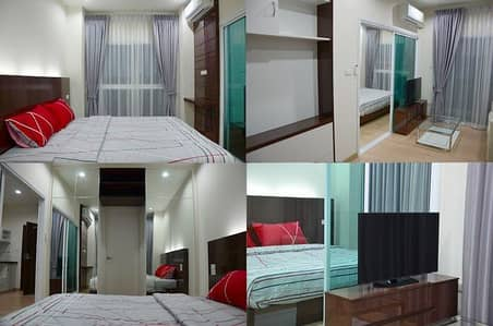 1 Bedroom Condo for Rent in Mueang Chiang Rai, Chiangrai - Condo for rent in Chiang Rai Corner room