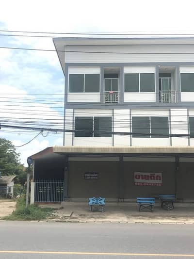 Commercial Building for Sale in Tha Ruea, Ayutthaya - 3-storey commercial building, 2 double rooms, ready to move in