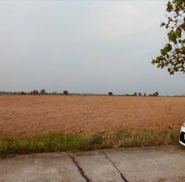 Land for sale on the road