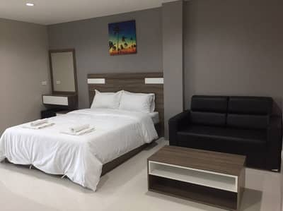 1 Bedroom Apartment for Rent in Bang Pakong, Chachoengsao - Apartment, daily - monthly, Bangna Km. 39, near Wellgrow Industrial Estate, fully furnished, free air-conditioned, free parking, fitness center, swimming pool.