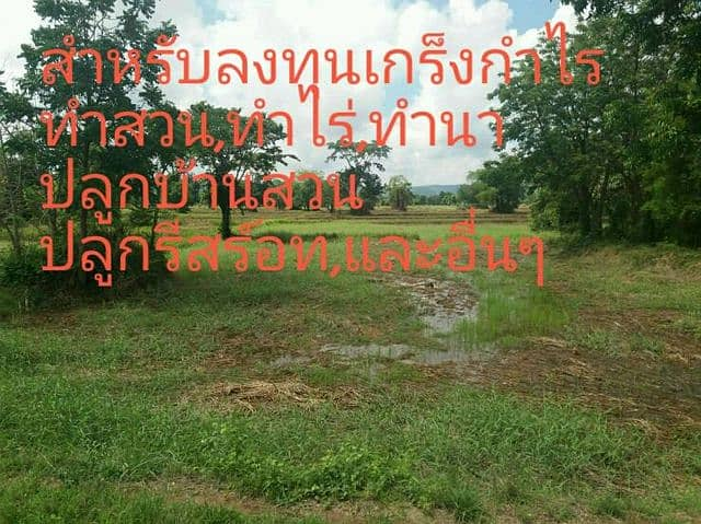Land suitable for investment
