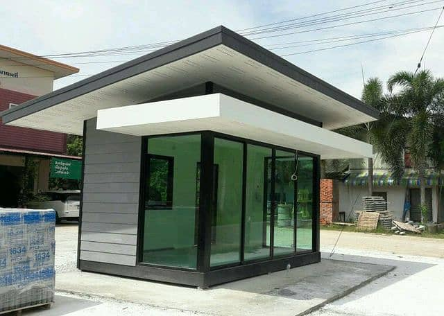 Office, house, prefabricated shop and more.