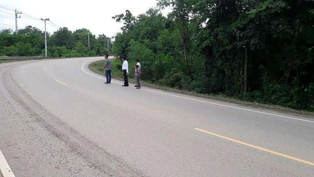 Title deed on the main road, Lom Sak, Phetchabun Province, 7 rai