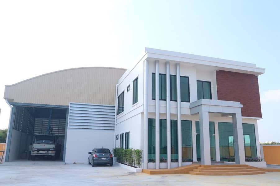 Mini factory sales Factory-Warehouse Bangna Km. 39, size 322 sq m, with office Near Wellgrow Industrial Estate Utilities
