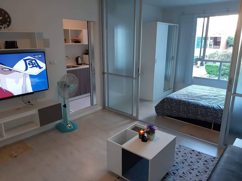 D Condo Sign, very beautiful room next to Central Phase, rent 10,000 baht.