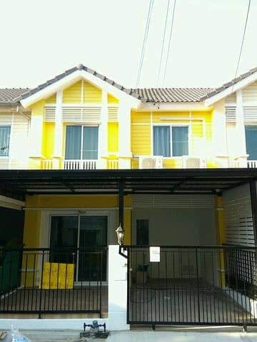 3 Bedroom Townhouse for Rent in Mueang Pathum Thani, Pathumthani - Townhouse for rent, Pruksa Ville 40, fully furnished.