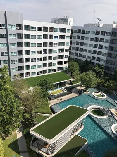 1 Bedroom Condo for Rent in Bang Na, Bangkok - (Room not available) Room for rent at Elio Delray Sukhumvit 64 station, Punnawithi, complete set.