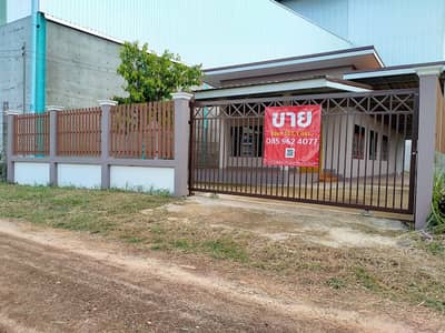 2 Bedroom Home for Sale in Warin Chamrap, Ubonratchathani - Finished house, ready to move in, on the way to Ubon Ratchathani University, just 2 km past Charoensri market,