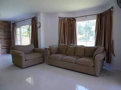 4 Bedroom Home for Rent in Hang Dong, Chiangmai - Beautiful house for rent, Sai Kan Khlong, in the village of Home In Park, easy to travel to, near the airport, with high security.