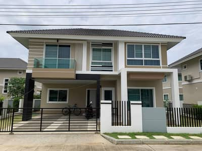 3 Bedroom Home for Rent in Saraphi, Chiangmai - For rent, 2 storey detached house, Baan Kankanok 12 project, phase 2, Chiang Mai.