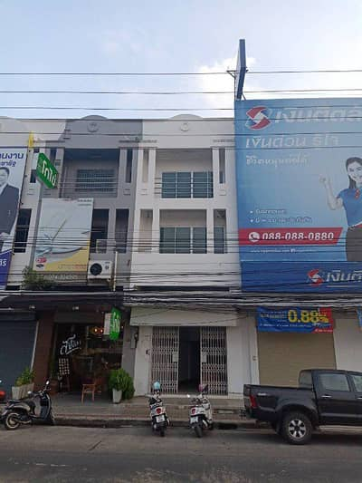 3 Bedroom Apartment for Sale in Mueang Songkhla, Songkhla - 3-storey commercial building for sale opposite the Naval base Songkhla, Mueang Songkhla District