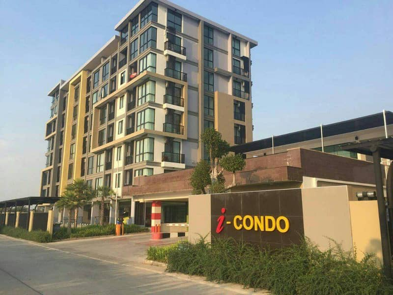 Condo for rent Project I - CONDO 35 square meters in the heart of Korat. 1 bedroom, 1 bathroom, fully furnished.