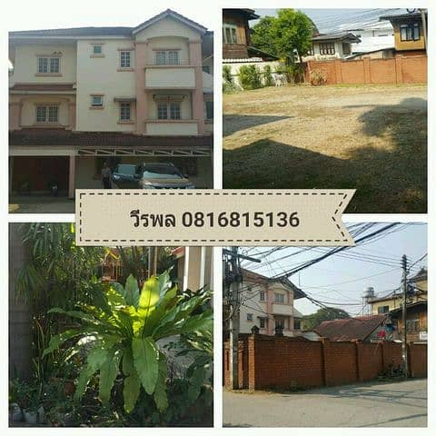Long term rental, townhome, prime location in the heart of Chiang Mai